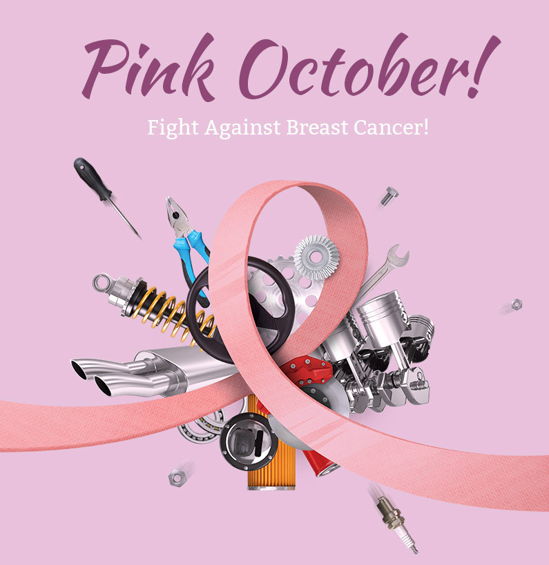 Pink October - Support Breast Cancer Awareness! | Nealey Auto Service